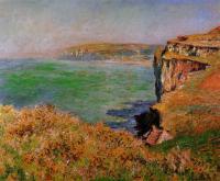 Моне Клод (Claude Monet) - Скала в Варенживилле