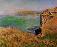 Claude Monet - Скала в Варенживилле