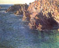 Моне Клод (Claude Monet) - Грот Порт-Домуа