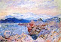 Моне Клод (Claude Monet) - Морской залив в Антибе