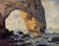Моне Клод (Claude Monet) - Маннепорт, Этрета