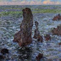 "Моне Клод (Claude Monet) - ""Пирамиды"", Порт-Котон"