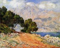 Моне Клод (Claude Monet) -  Метон, вид с мыса Мартин