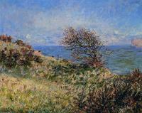Моне Клод (Claude Monet) - На утёсе в Фекаме