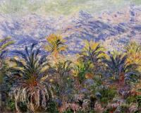 Моне Клод (Claude Monet) - Пальмы в Бордигере