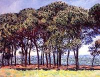 Моне Клод (Claude Monet) - Сосны, мыс Антиба