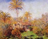 Моне Клод (Claude Monet) - Небольшая ферма в Бордигере