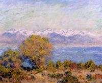 Моне Клод (Claude Monet) - Альпы, вид с мыса Антиба