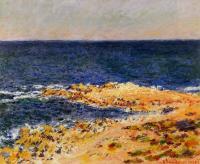 Claude Monet - Голубая безна в Антибе