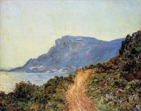 Claude Monet - Горная дорога в Монако