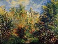 Моне Клод (Claude Monet) - Сад Морено в Бордигере