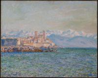 Моне Клод (Claude Monet) - Старый форт в Антибе