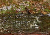 Моне Клод (Claude Monet) - Стремительный поток