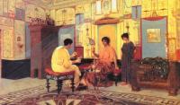 Древний Рим и Греция, Египет - Соседки. Сцена из римской жизни