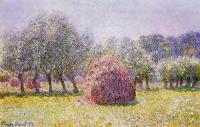 пейзаж < Стог сена >:: Клод Моне ( Claude Monet )
