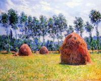 Моне Клод (Claude Monet) - Стога сена в Живерни