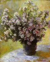 цветы < Букет мальв >:: Клод Моне, описание картины
