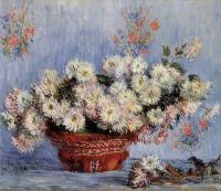 Claude Monet - Хризантемы