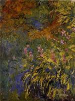 Claude Monet - Ирисы