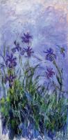 Моне Клод (Claude Monet) - Сиреневые ирисы
