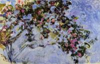Моне Клод (Claude Monet) - Куст роз