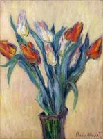 Claude Monet - Ваза с тюльпанами