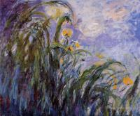 Моне Клод (Claude Monet) - Жёлтые ирисы