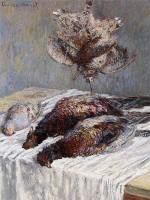Claude Monet - Фазаны, вальдшнепы и куропатки