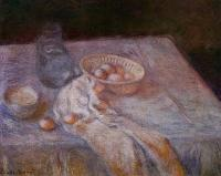 Моне Клод (Claude Monet) - Натюрморт с яйцами