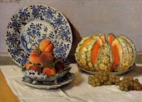 Claude Monet - Натюрморт с дыней