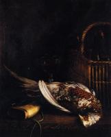 Моне Клод (Claude Monet) - Натюрморт с фазаном