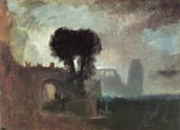 картина  Арка и деревья у моря :: Уильям Тёрнер ( William Turner )