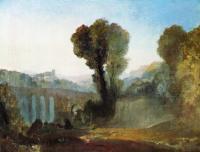 William Turner - Аричча - закат