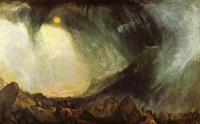 картина  Снежная буря. Переход Ганнибала через Альпы :: Уильям Тёрнер ( William Turner )