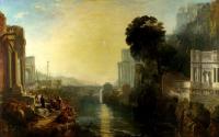 картина  Возведение Карфагена :: Уильям Тёрнер ( William Turner )
