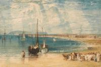 картина  город Веймоут в Дорсетшире :: Уильям Тёрнер ( William Turner )
