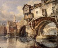 картина  Уэльский мост в Шрусбери :: Уильям Тёрнер ( William Turner )