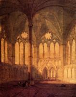 картина  Капелла в Солсбери :: Уильям Тёрнер ( William Turner )