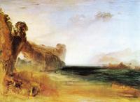 William Turner - Скалистая бухта с фигурами