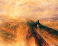 картина  Дождь, пар и скорость - Большая Западная Железная дорога :: Уильям Тёрнер ( William Turner )