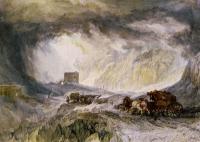 William Turner - Дорога в горах