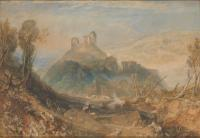 картина  Окехамптон :: Уильям Тёрнер ( William Turner )