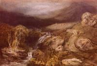 картина  Горный поток, Конистон :: Уильям Тёрнер ( William Turner )