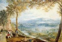 William Turner - Внутренний двор церкви