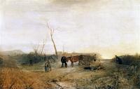 картина  морозное утро :: Уильям Тёрнер ( William Turner )