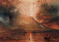 картина  Извержение Везувия :: Уильям Тёрнер ( William Turner )