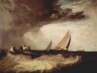 William Turner - Рыбак из Шуберинесса призывает на помощь уайтстейблский паром