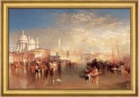 William Turner - Венеция, вид с канала Джудекка