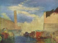 William Turner - Венеция. 'Пьяццетта'