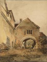 William Turner - Въезд в усадьбу